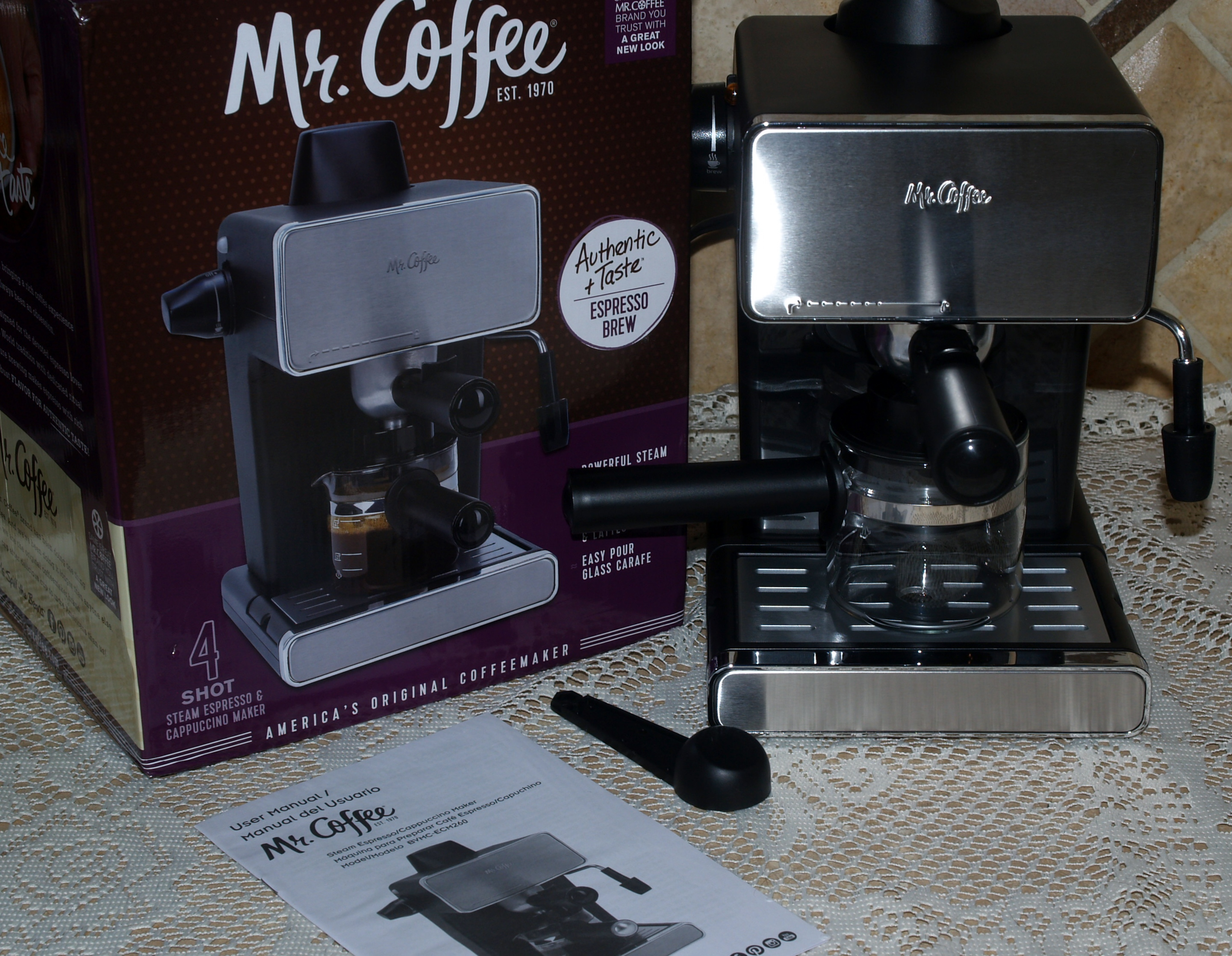 Mr. Coffee Steam Espresso Maker : Review and First Impressions